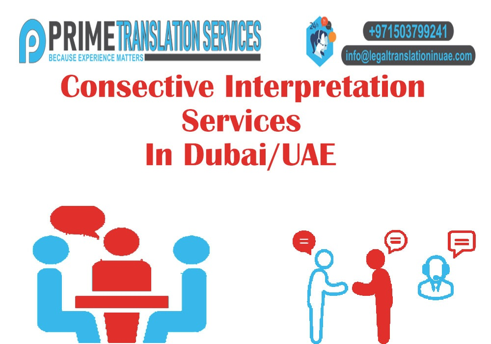 Consecutive Interpretation Services