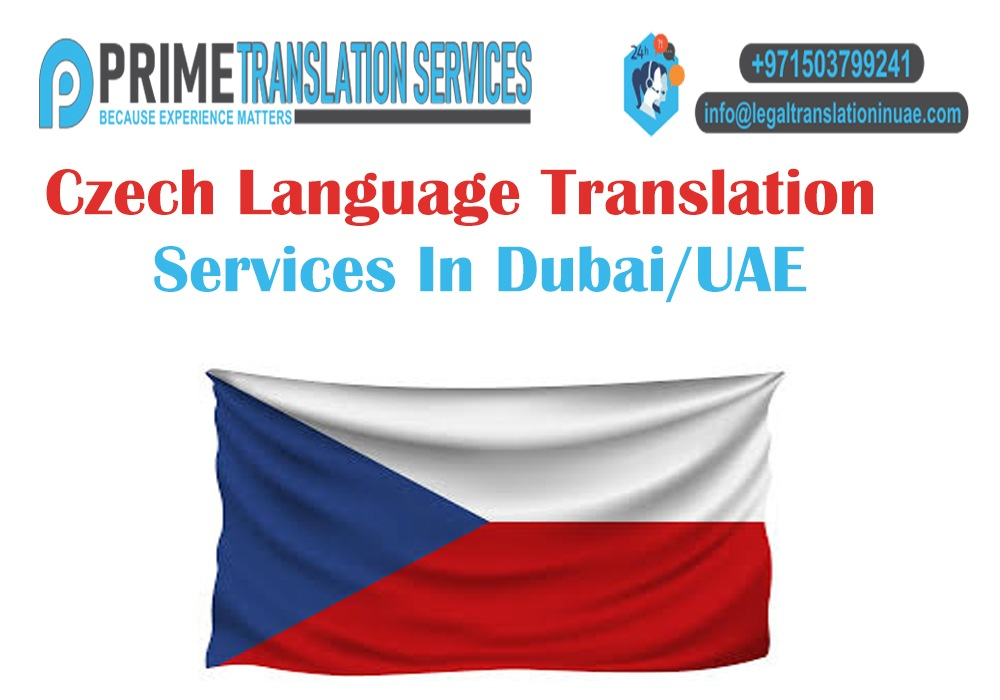 Czech Translation in Dubai, UAE