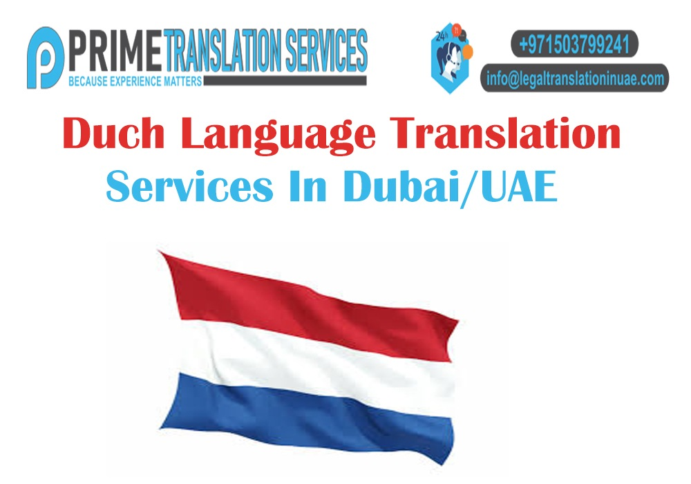 Duch Language Translation Services
