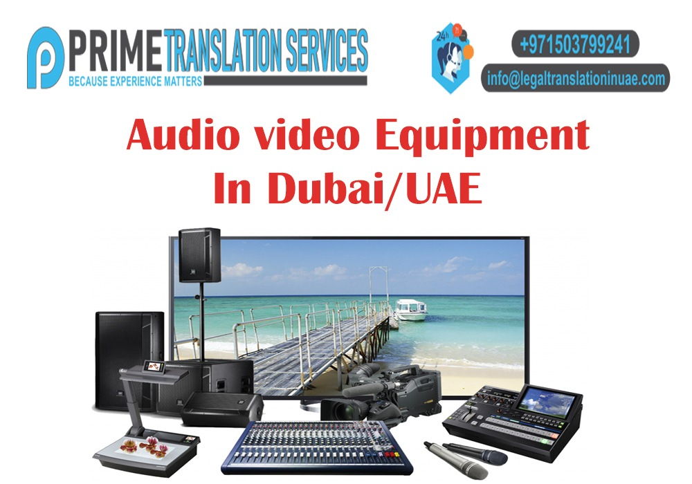 Audio Video Equipment