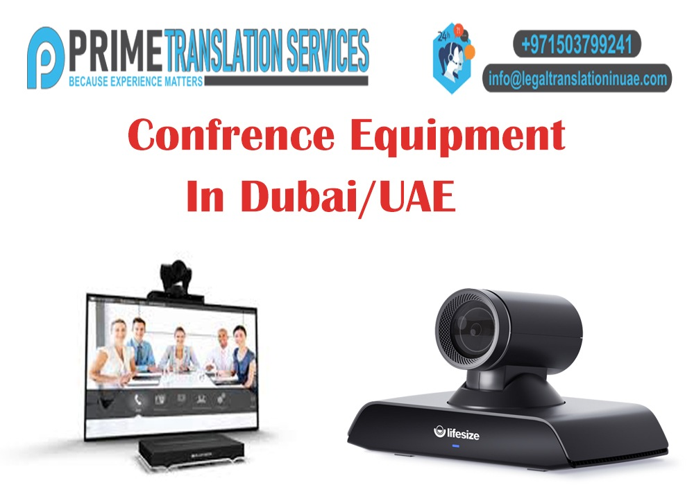 Conference Equipment Suppliers in Dubai
