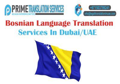 Bosnian Translation Dubai