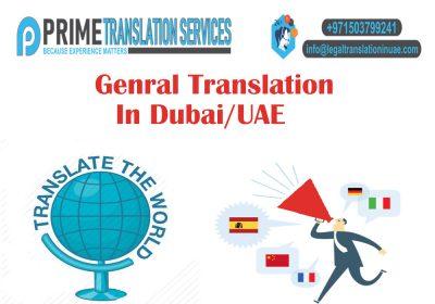 General Translation Dubai