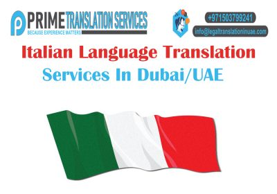 Italian Translation Dubai