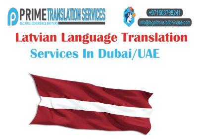 Latvian Translation Dubai