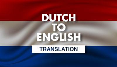 Dutch Translation Dubai