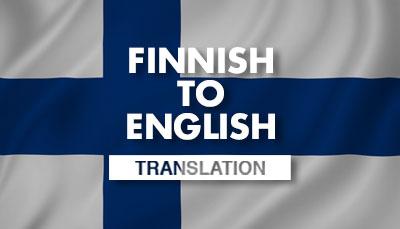 Finnish Translation Dubai